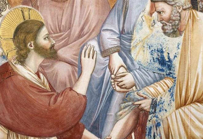 Lavanda dei piedi, Papa Francesco tra i detenuti di Paliano FOTO