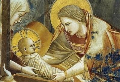 Giotto, Natività di Gesù (1303-05) (Wikipedia)
