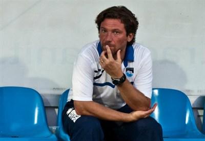 Il tecnico dello Spezia Giovanni Stroppa (Infophoto)