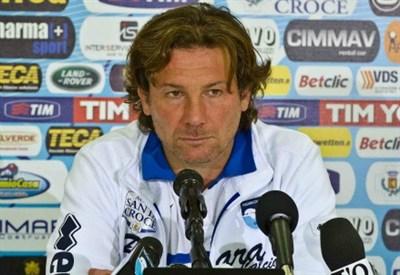 Giovanni Stroppa, ex allenatore del Pescara ora allo Spezia (Foto Infophoto)