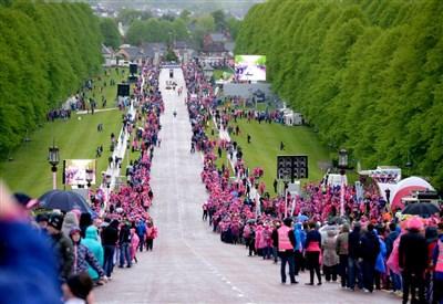Una suggestiva immagine del Giro in Irlanda (da Facebook)