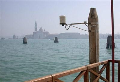 Il canale della Giudecca a Venezia