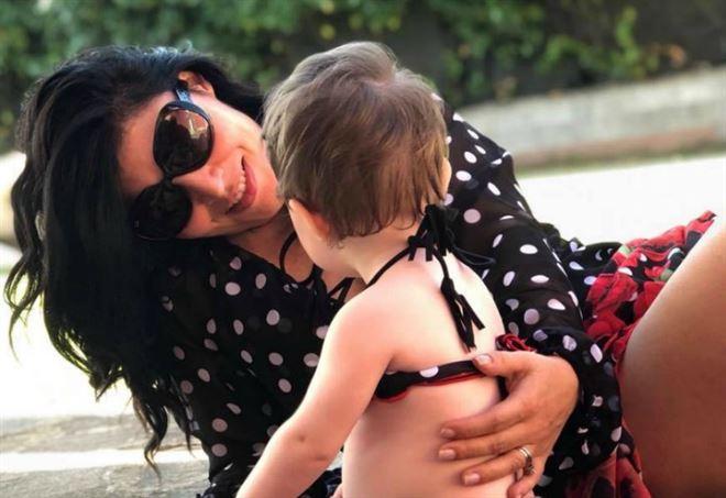 Giusy Ferreri e la piccola Beatrice (Instagram)