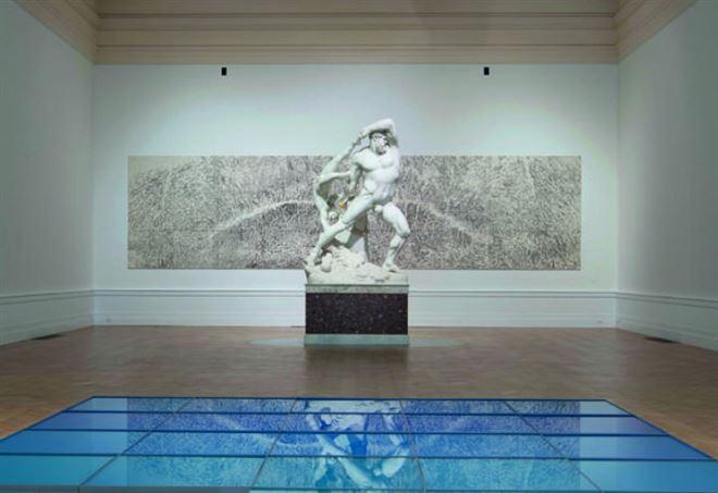 Una sala della Gnam di Roma (Foto dal web)