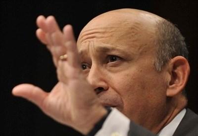 Lloyd Blankfein, Ceo di Goldman Sachs (Infophoto)