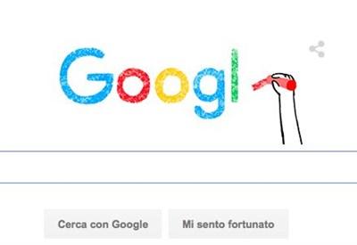 L'animazione con il nuovo logo di Google (Immagine d'archivio)