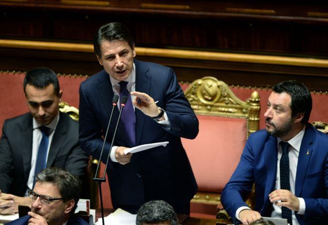 Governo Conte, oggi la Fiducia al Senato (LaPresse)