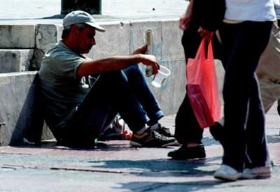 Un povero in Grecia