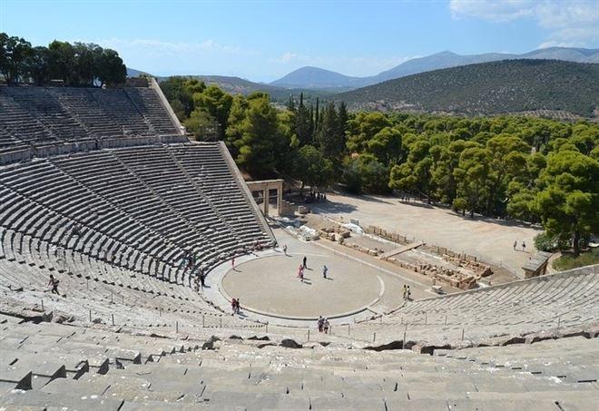 Il Teatro antico di Epidauro (Foto Pixabay)