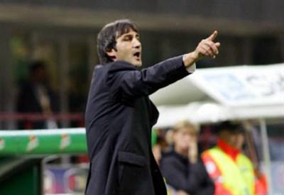 Angelo Gregucci è l'allenatore dell'Alessandria (Infophoto)