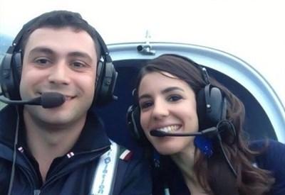 Claudio Grigoletto e Marilia R. Martin (Immagine d'archivio)
