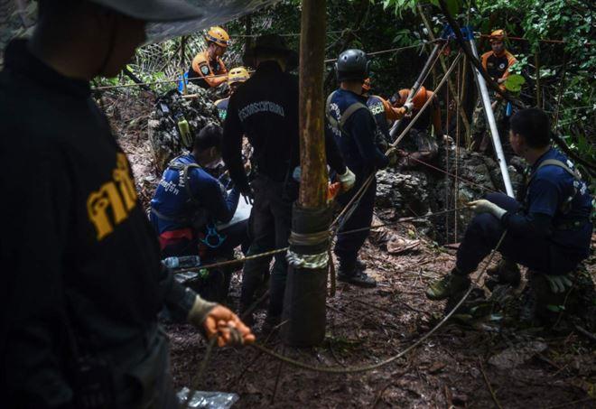 Thailandia, trovati vivi tutti i ragazzini dispersi (LaPresse)
