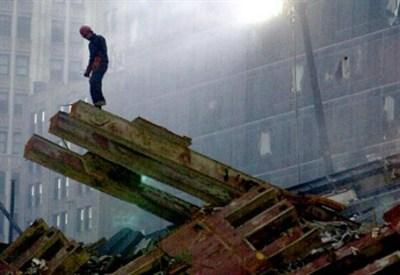 Dopo l'attentato dell'11 settembre 2001 (Infophoto)