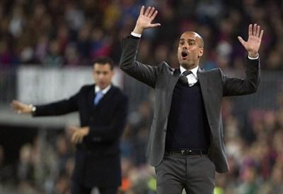 Pep Guardiola, allenatore del Bayern Monaco (Infophoto)