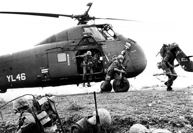 Soldati Usa in Vietnam nel 1966 (LaPresse)