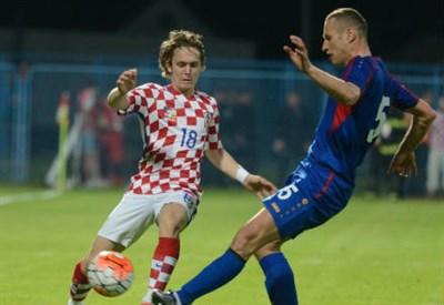 Il croato Alen Halilovic (a sinistra), 20 anni, centrocampista dell'Amburgo (LAPRESSE)