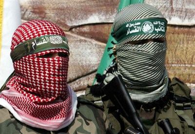 Militanti di Hamas (Infophoto)