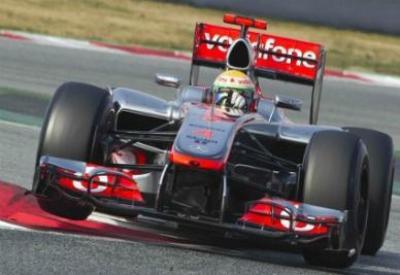 Lewis Hamilton, partirà dalla pole nel Gran Premio di Spagna (Infophoto)