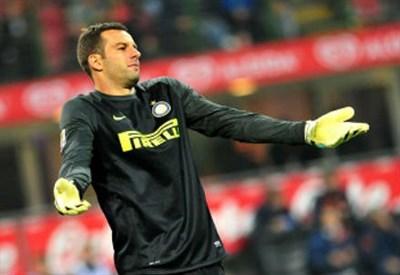 Handanovic, portiere Inter (Infophoto)