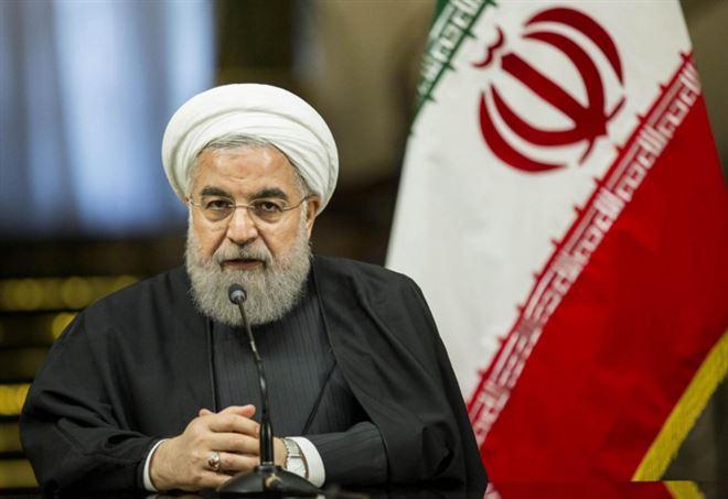 Il presidente dell'Iran Hassan Rohani (LaPresse)