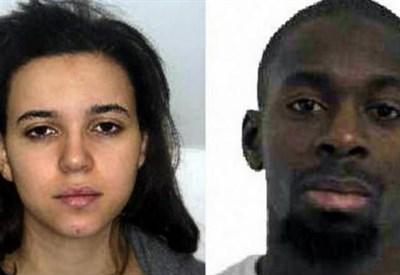 Hayat Boumeddiene e Amedy Coulibaly