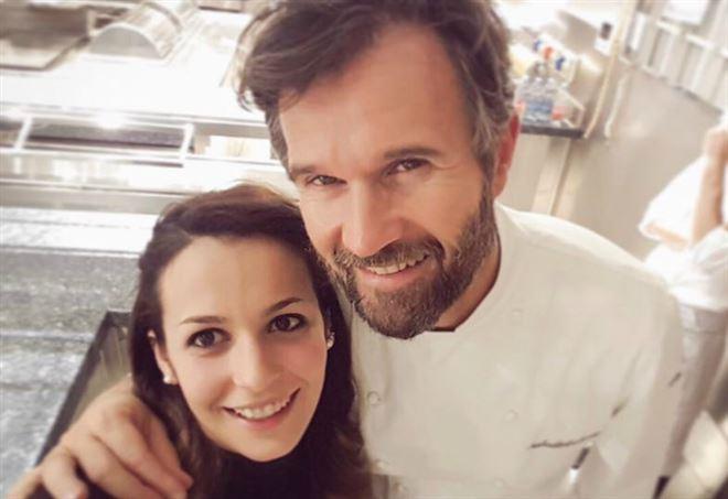Carlotta Delicato e Carlo Cracco (Facebook)