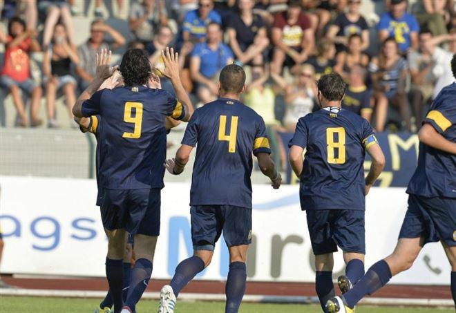 Hellas Verona - Triestina: finisce 4