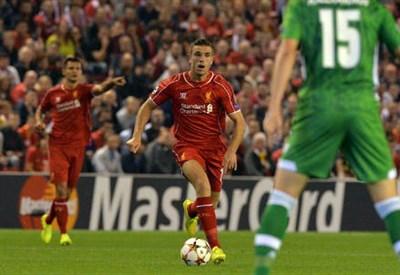 Jordan Henderson, 24 anni, inglese (dalla pagina Facebook ufficiale UEFA Champions League)