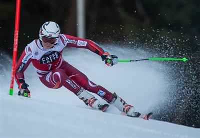Henrik Kristoffersen in azione (Infophoto)