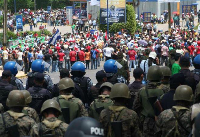Manifestazioni popolari in Honduras (Foto dal web)