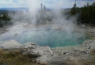 Hot spring nel Parco di Yellowstone