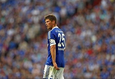 L'olandese Klaas-Jan Huntelaar, 32 anni, attaccante dello Schalke 04 (INFOPHOTO)