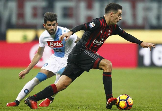 Video Napoli Milan (LaPresse)