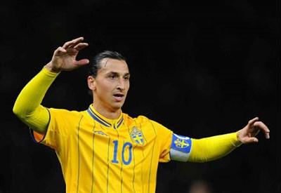 Zlatan Ibrahimovic, 32 anni, attaccante svedese del PSG (INFOPHOTO)