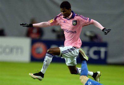 Ibrahima Conte, 24 anni, attaccante guineano dell'Anderlecht (INFOPHOTO)