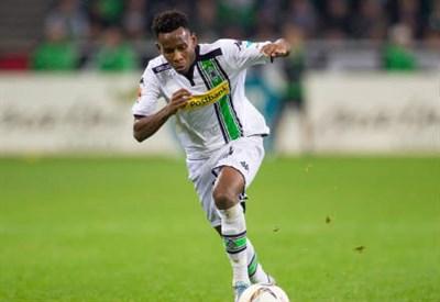 Ibrahima Traoré, 27 anni, guineano, centrocampista del Borussia Monchengladbach (INFOPHOTO)