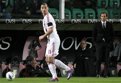 Zlatan Ibrahimovic, attaccante PSG (Infophoto)