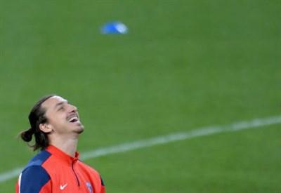 Zlatan Ibrahimovic, 33 anni (infophoto)