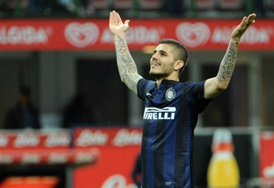 Mauro Icardi, attaccante Inter (Foto Infophoto)
