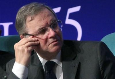 Il governatore di Bankitalia Ignazio Visco (Infophoto)