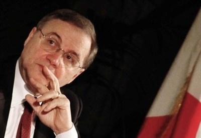 Il governatore Bankitalia Ignazio Visco (Infophoto)