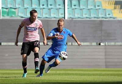 Un precedente di Palermo-Torino (Infophoto)