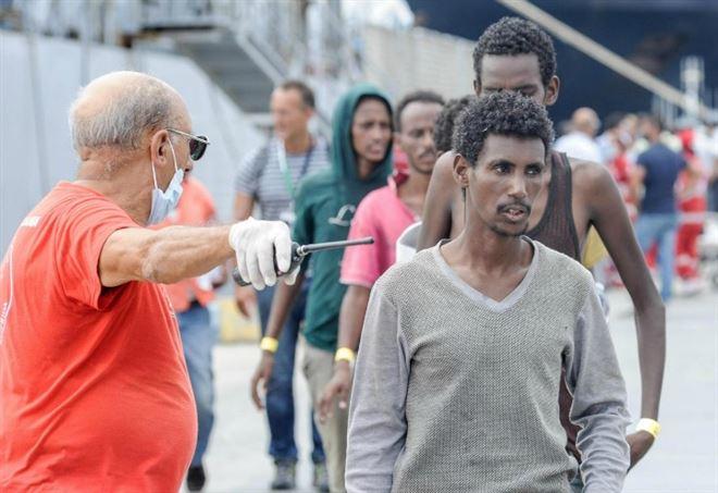 Il dramma dei migranti in Libia (foto LaPresse)