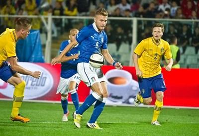 Ciro Immobile, attaccante del Genoa e dell'Under 21 (Infophoto)