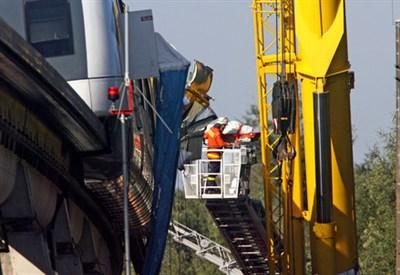 Incidente treno (Fonte Infophoto)