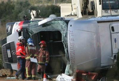 L'incidente di Tortosa, in Spagna (Foto dal web)