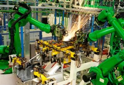 Sistemi robotizzati in industria