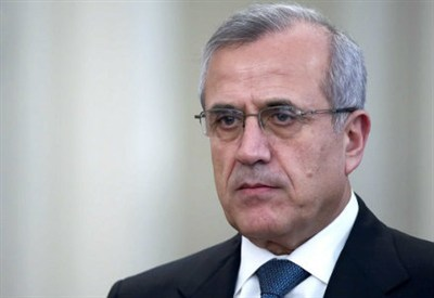 Il presidente libanese, Michel Suleiman (InfoPhoto)