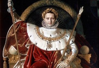 Jean-A.-D. Ingres, Napoleone I sul trono imperiale (1806; particolare)