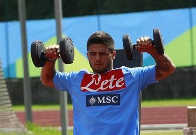 Lorenzo Insigne, attaccante Napoli (Infophoto)